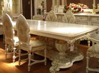 欧式餐桌效果图
