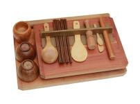 竹木餐具图片
