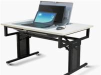 折叠电脑桌图片