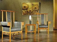 新中式家具效果图