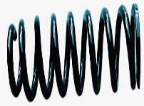 弹簧减震器图片