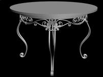 圆桌的效果图