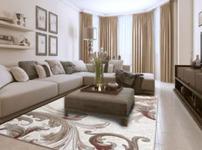客厅地毯图片