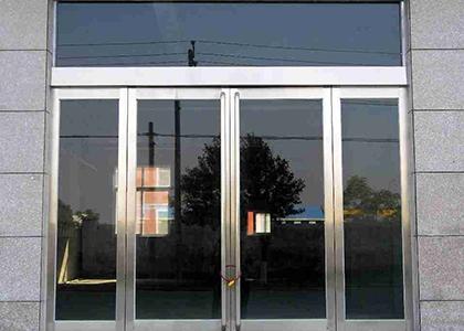 不锈钢玻璃门