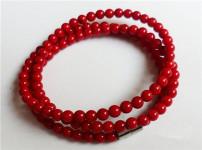 红珊瑚手链的图片