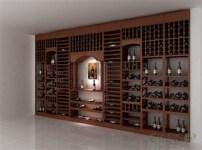红酒酒架图片