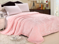 拉舍尔毛毯图片