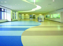 PVC塑料地板图片