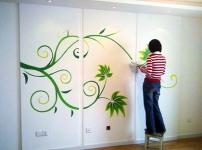 手绘墙画图片