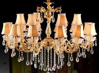 欧式水晶吊灯图片