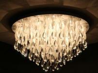 水晶吸顶灯图片