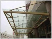 玻璃雨棚图片