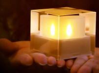 电子蜡烛灯图片