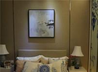 床头挂画的图片