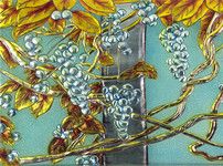 玻璃装饰画的图片