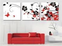 沙发墙装饰画的图片