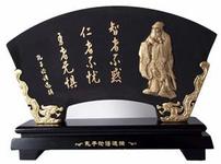 炭雕工艺品图片