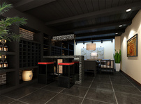 地下室餐厅图片