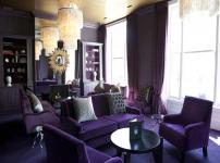 紫色家具图片