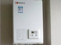 直排式热水器的图片