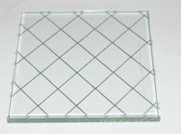 夹丝玻璃图片