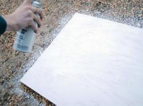 白喷漆图片