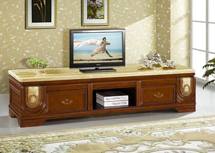 大理石电视柜
