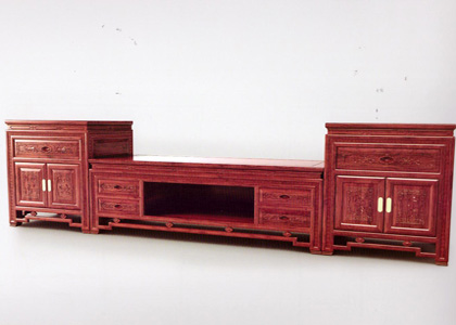 红木电视柜