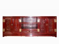 红木电视柜图片
