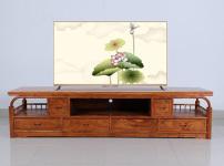花梨木电视柜的图片