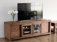 橡木电视柜的图片