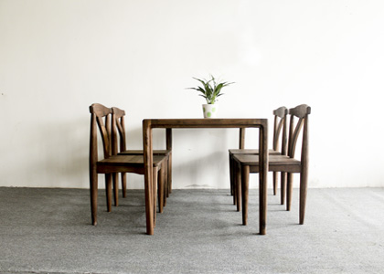 白橡木家具