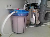 净水器安装图片