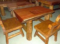 原木家具的相关图片