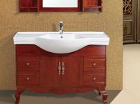 实木浴室柜的相关图片