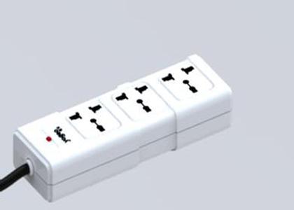 普通插排电路图