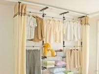简易布衣柜的图片