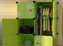 塑料衣柜的图片