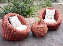 藤椅沙发图片