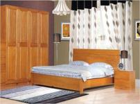 华丰家具实木床的图片