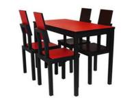 快餐桌椅图片