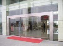 自动玻璃门图片