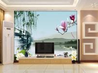 电视墙壁纸图片