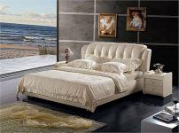 蓝天软床的图片