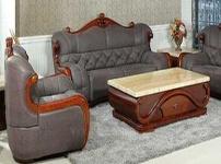 金宝马沙发的图片