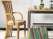 曲美餐椅图片
