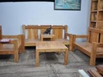 君馨阁榆木家具的图片