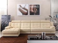 丽星真皮沙发的图片