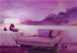粉紫色装修