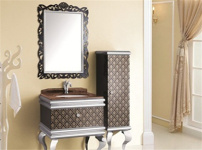 不锈钢浴柜图片